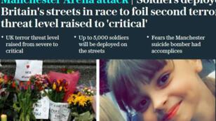 Saffie-Rose Roussos fait partie des 22 victimes de l'attentat de Manchester.