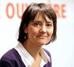 Nathalie Arthaud, dans les pas d'Arlette Laguiller. (Photo : AFP)