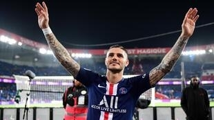 Mauro Icardi a été définitivement transféré au Paris Saint-Germain.