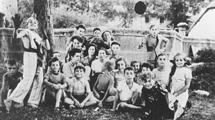 "Photo dated April 1944 of the Jewish ""children of Izieu"" shortly before they were deported to Nazi death camps."