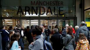 Le centre commercial d'Arndale, à Manchester, ici en février2017.
