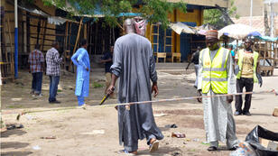 La capitale de l'État de Borno au Nigeria avait été frappée par un attentat meurtrier de Boko Haram devant un marché, le 7 mars 2015.