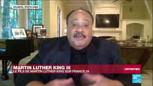 Martin Luther King III, le fils de Martin Luther King Jr