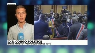 France 24's Clement Bonnerot reporting from Kinshasa