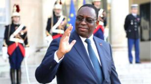 Le président sénégalais Macky Sall, le 20 avril 2018 à Paris.