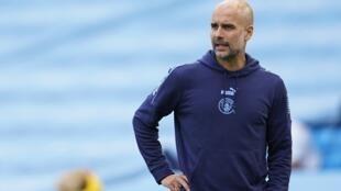 Guardiola, técnico del Manchester City, buscará avanzar a la fase final de la Liga de Campeones en Portugal.