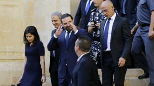 Saad Hariri quitte le Parlement le 31 octobre, après l'élection de Michel Aoun au poste de président.