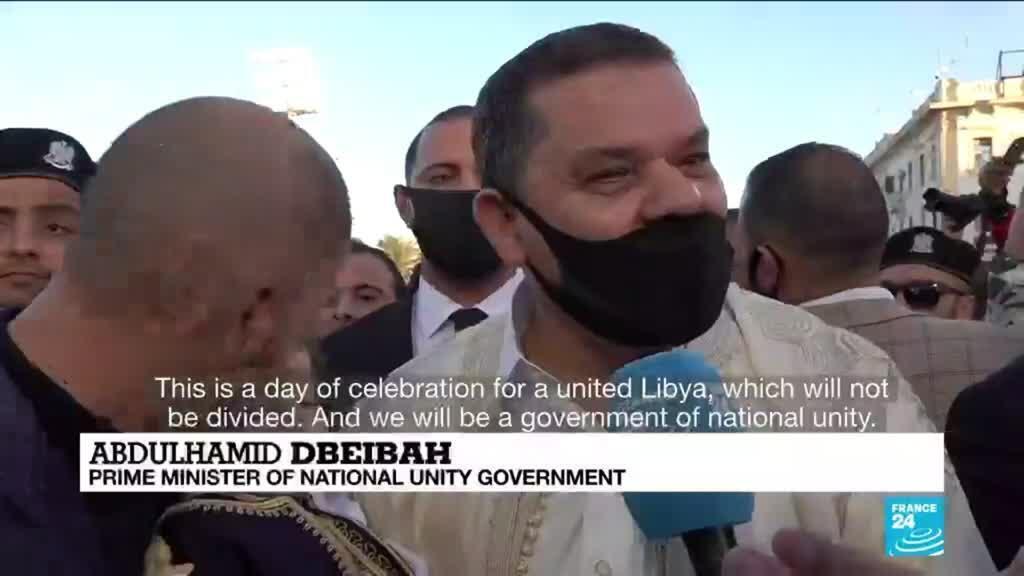 2021-02-18 08:14 Libyans mark 2011 uprising with eyes on interim govt