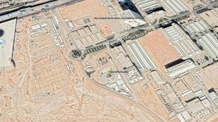 """El sitio del reactor nuclear está ubicado en la """"Ciudad de la Ciencia y Tecnología del Rey Abdulaziz"""" en Riad."""