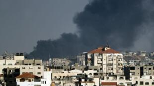 Israël a touché plusieurs installations à Gaza appartenant au Hamas ou au groupe Jihad islamique, le 29 mai.