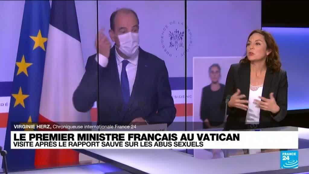 2021-10-18 10:06 Visite de Jean Castex au Vatican : célébration de la reprise des relations entre le Vatican et Paris