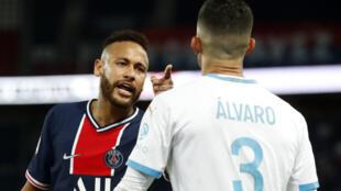 Neymar au Parc des Princes, le 13 septembre 2020.