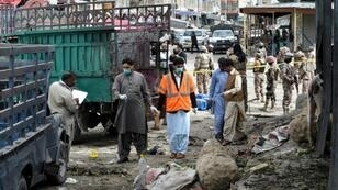 The powerful suicide bombing on Friday in Quetta city left 20 people died