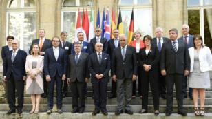 Les ministres de l'Intérieur et des Transports de la France et de huit autres pays européens étaient présents samedi 29 août, à Paris.