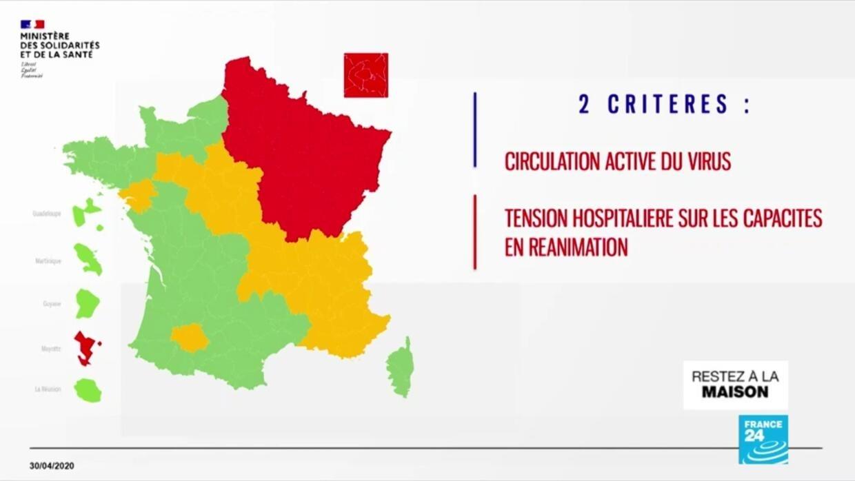Déconfinement en France: une carte entièrement verte