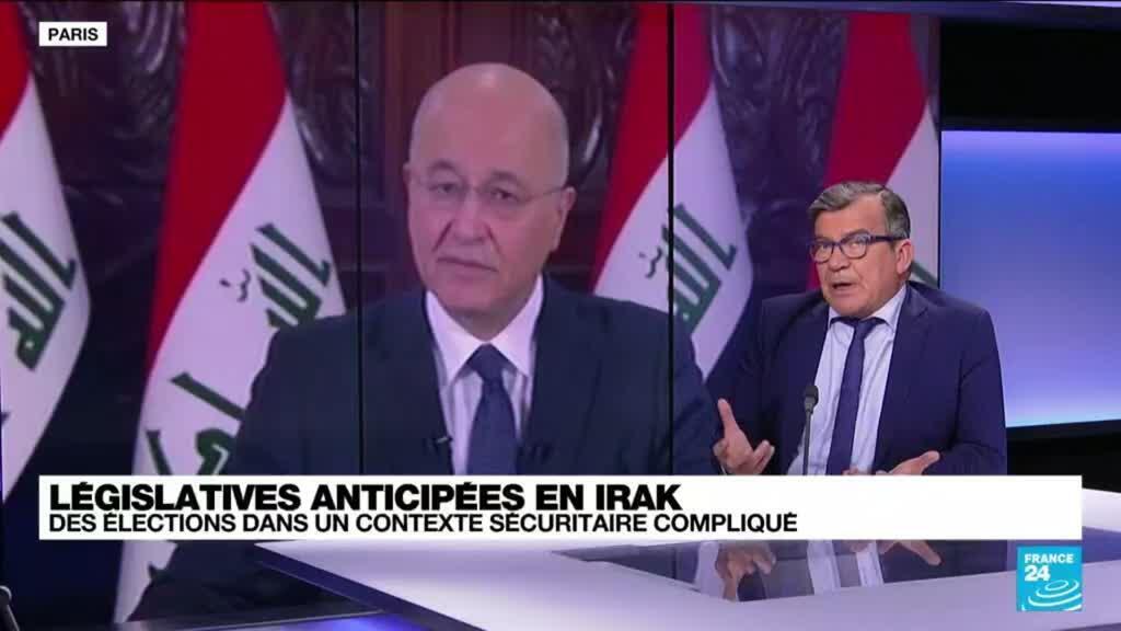 """2021-10-08 14:42 Législatives anticipées : """"En Irak, c'est une grosse désillusion depuis la révolte de 2019"""""""
