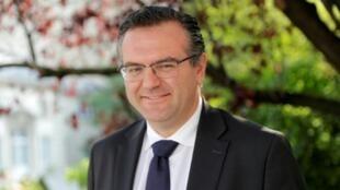Le député LREM Romain Grau le 21 juin 2017 à Paris