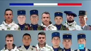 2019-11-27 10:33 France pays tribute to soldiers killed in Mali