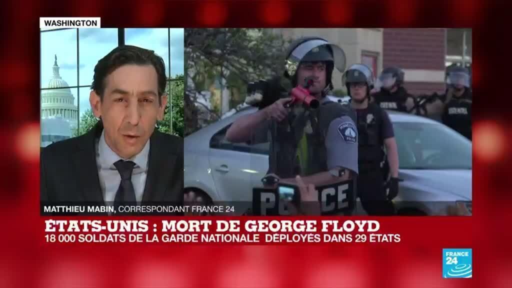 2020-06-02 18:02 Mort de George Floyd : Qu'est-ce qui va changer avec le déploiement de la garde nationale ?