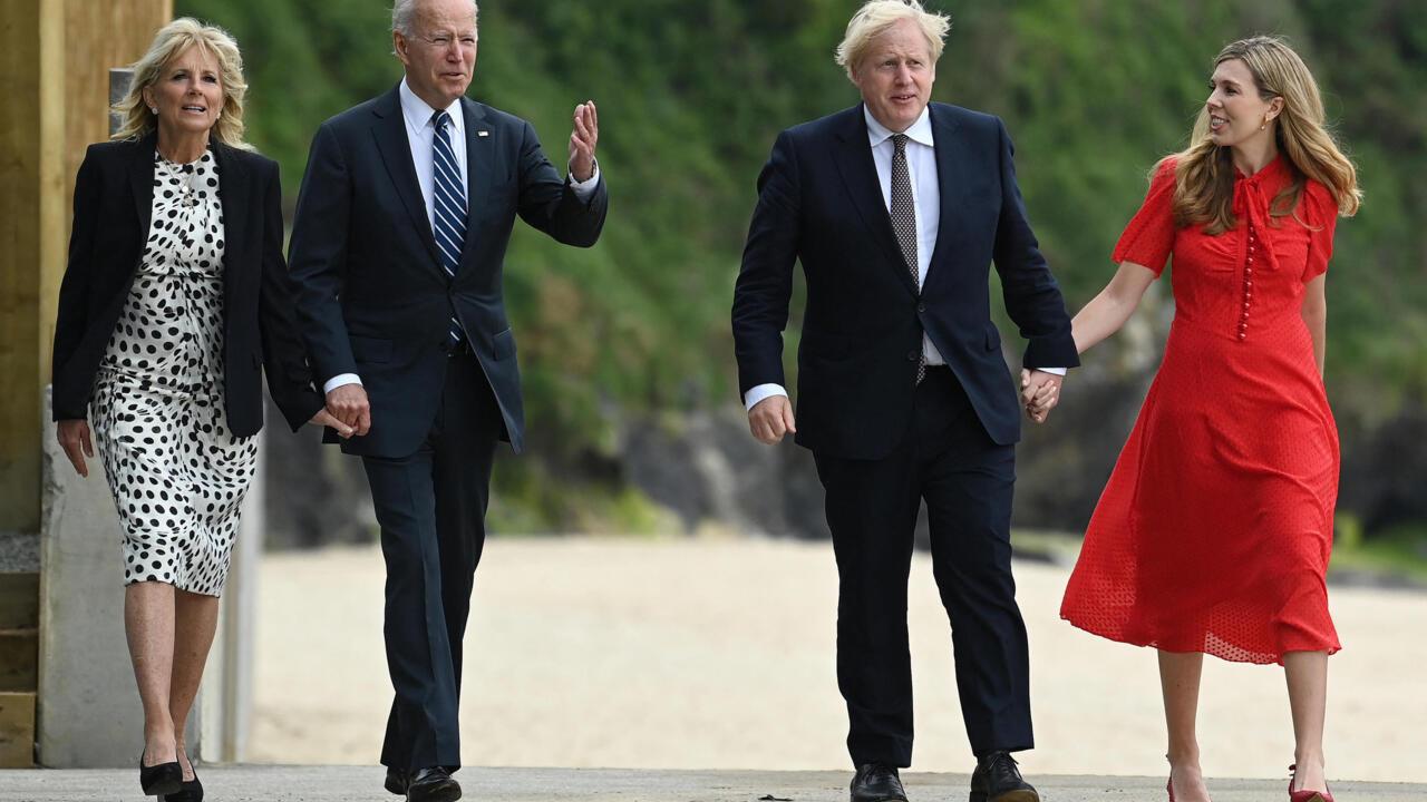 UK's Johnson hails Biden as 'breath of fresh air' in meeting ahead of G7