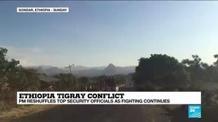 2020-11-09 10:07 Ethiopian PM reshuffles security officials as Tigray conflict escalates