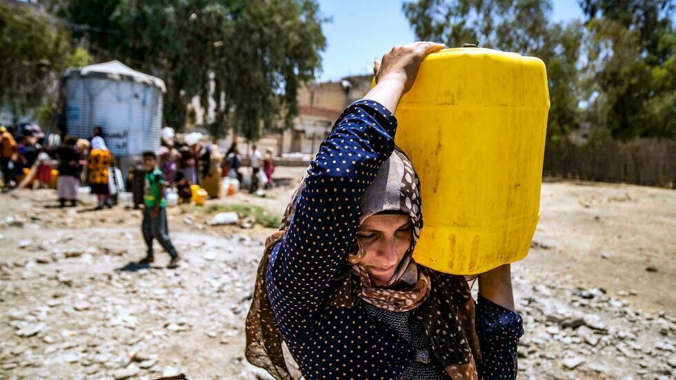 crise eaux syrie afp