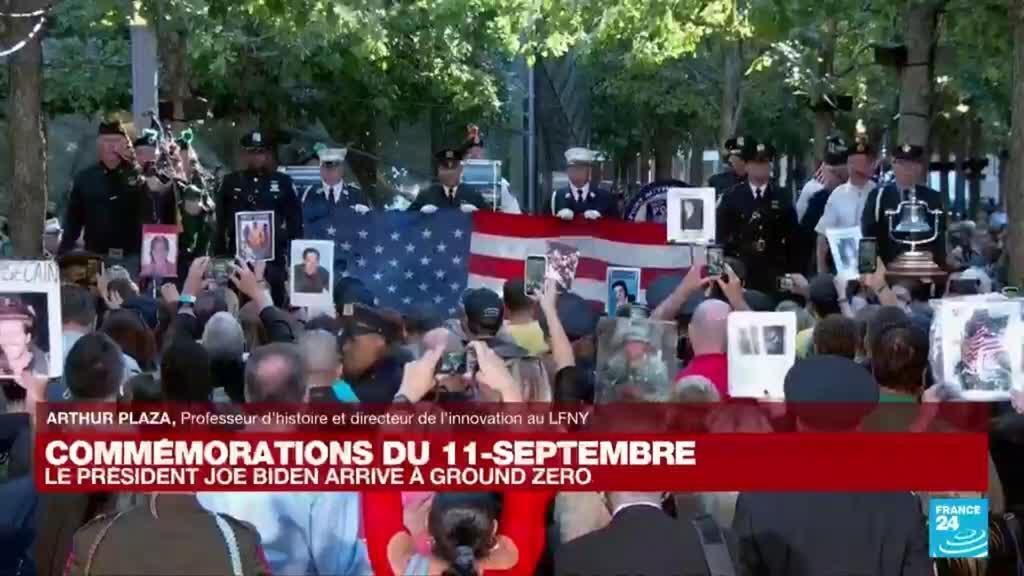 2021-09-11 14:36 20 ans du 11-Septembre : 'Un moment de recueillement pour les New Yorkais'