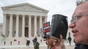 مظاهرة سابقة في واشنطن ضد زواج المثليين