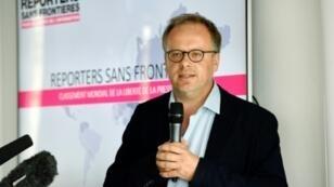 الأمين العام لمنظمة مراسلون بلا حدود كريستوف دولوار