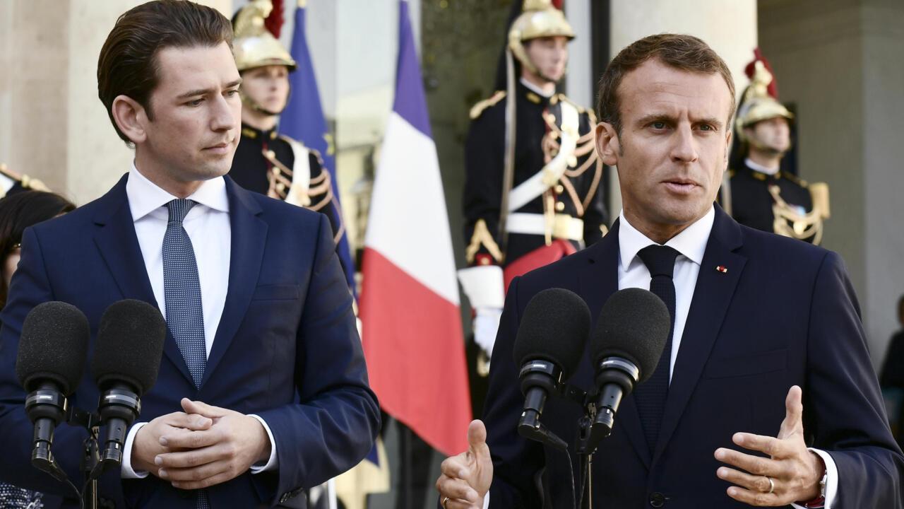 Macron to host Austria's Kurz ahead of EU talks on terror response - FRANCE 24 English