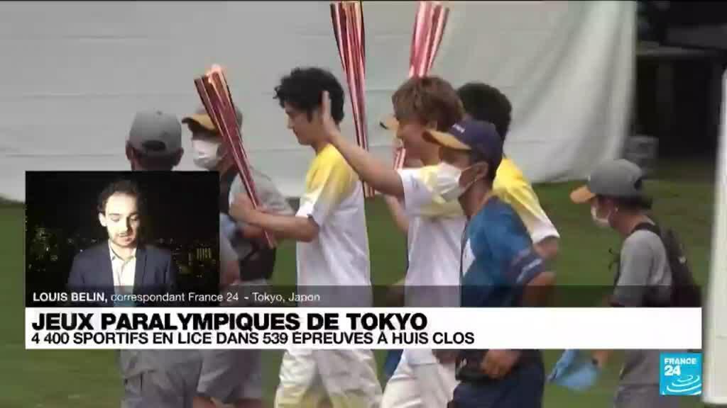 2021-08-24 13:15 Jeux paralympiques : l'inquiétude plane à Tokyo en raison de la pandémie