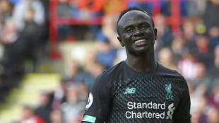 Sadio Mané, victorieux avec les Reds de Liverpool.