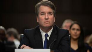 Le juge Brett Kavanaugh lors de son audition au Sénat mardi 4 septembre 2018.