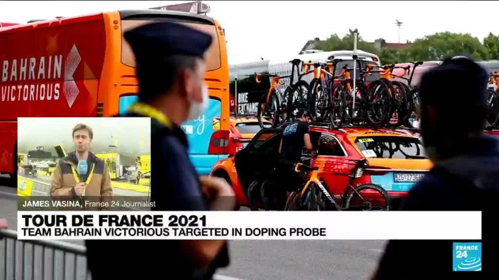 2021-07-15 18:13 Police target Tour team Bahrain Victorious in anti-doping raid
