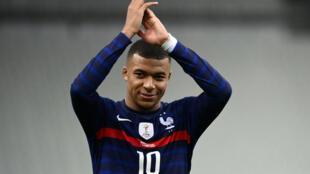 France forward Kylian Mbappe scored a cracker on Wednesday