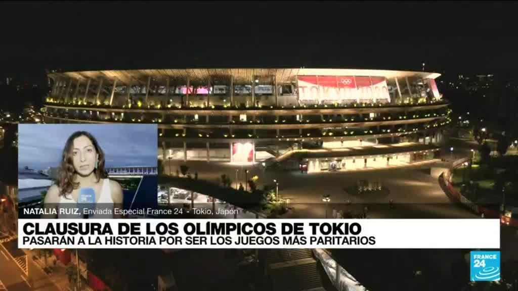 2021-08-08 13:01 Informe desde Tokio: se cerraron los JJ. OO. pasando la posta a París, anfitriona en 2024