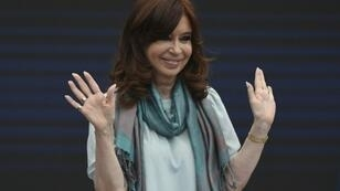 Former Argentina president Cristina Kirchner, pictured in November, is battling a number of corruption cases relating to her time in office