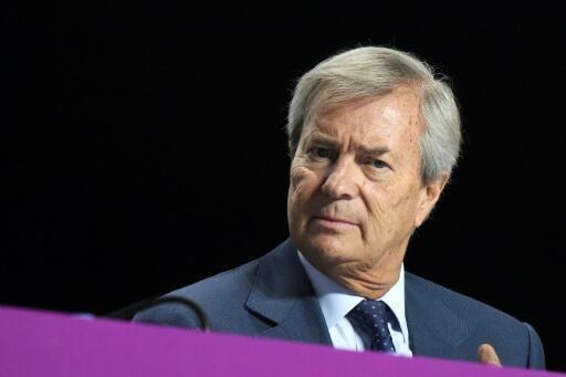 Le président du groupe Bolloré Vincent Bolloré le 19 avril 2018 à Paris