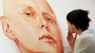 L'ex-agent du KGB, Alexandre Litvinenko, peint en 2007.