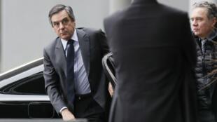 رئيس الوزراء الفرنسي السابق والمرشح اليميني للرئاسة فرانسوا فيون