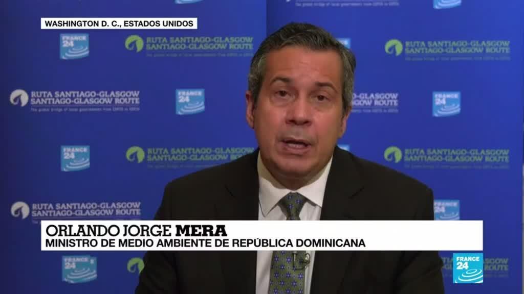"""2021-04-22 14:40 Orlando Jorge Mera: """"La lucha contra el cambio climático no puede partir solamente de los gobiernos"""""""