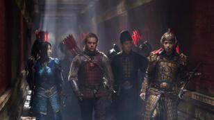 """Matt Damon, star du prochain film """"La Grande Muraille"""", produit par les studios Legendary Entertainment rachetés par Wanda."""