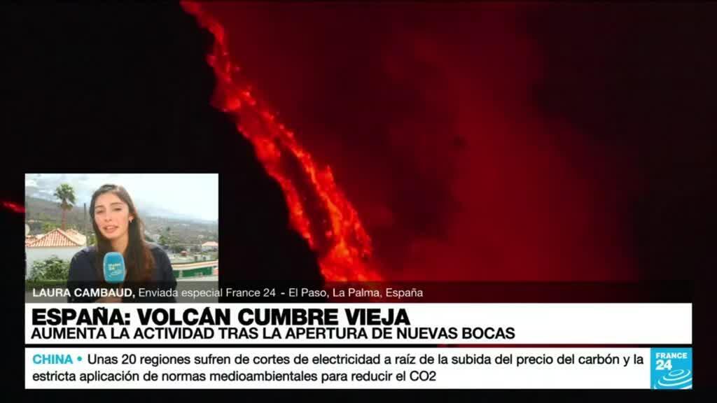 2021-10-02 17:03 Informe desde La Palma: afectados por el volcán Cumbre Vieja piden más apoyo del Gobierno español