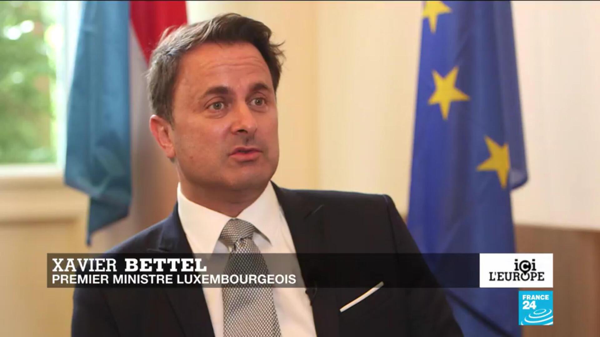 Xavier Bettel, Premier ministre du Luxembourg.
