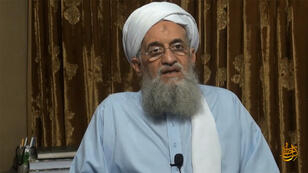 Le chef d'Al-Qaïda, Ayman al-Zawahiri