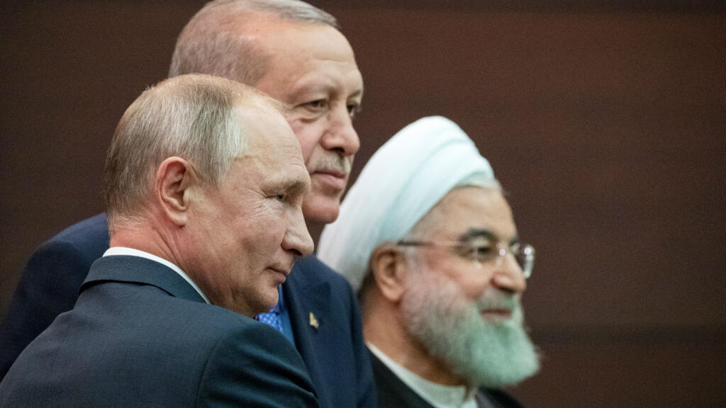 Russia, Turkey and Iran agree to move toward new constitution for Syria
