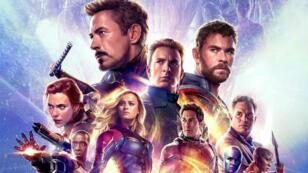 """L'affiche du film """"Avengers : Endgame"""" (2019), produit par Disney et tourné dans l'État de Géorgie."""