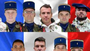 Parmi les victimes, six officiers, six sous-officiers et un caporal-chef ont été tués. Sept d'entre eux venaient de la base de Pau-Uzein, tandis quatre autres appartenaient au quatrième Régiment de chasseurs de Gap. Deux autres soldats dépendaient du régiment d'artillerie de montagne de Varces et du régiment étranger de génie de Saint-Christol.