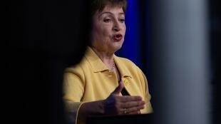 La directora gerente del FMI, Kristalina Georgieva, el 4 de marzo de 2020 en Washington