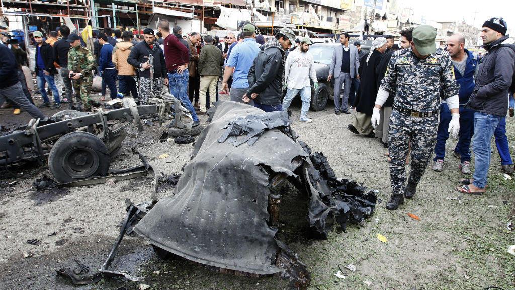 L'attentat s'est produit sur une place de Sadr City, un quartier situé dans le nord-est de la capitale, théâtre de fréquents attentats meurtriers.